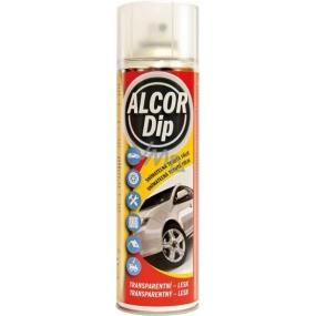 Alcor Dip snímatelná tekutá fólie ve spreji Transparentní - lesk 500 ml