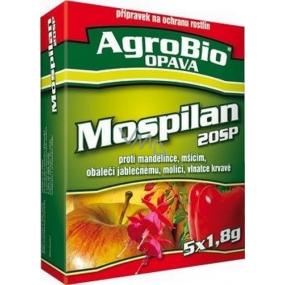 AgroBio Mospilan 20SP přípravek na ochranu rostlin 5x1,8 g