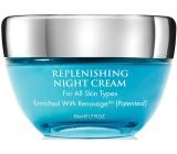 Aqua Mineral Replenishing regenerační noční krém pro všechny typy pleti 50 ml