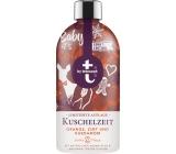 T: BY Tetesept Kuschelzeit Čas objetí zimní koření s pomerančovým olejem pěna do koupele 420 ml