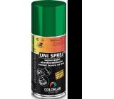 Colorlak Uni univerzální akrylkombinační barva na kov sprej 1999 Černá 160 ml