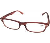 Berkeley Čtecí dioptrické brýle +3,5 hnědé mat 1 kus MC2 ER4040