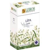Leros Lípa květ bylinný čaj při nachlazení, zápal dýchacích cest, horečka 20 x 1,5 g