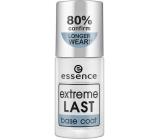 Essence Extreme Last Base Coat podkladový lak na nehty 8 ml
