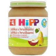 Hipp Ovoce Bio Jablka s hruškami ovocný příkrm, snížený obsah laktózy a bez přidaného cukru pro děti 125 g