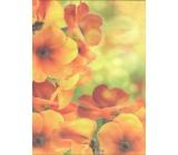 Nekupto Dárková kraftová taška střední 29 x 22 x 10 cm Květy
