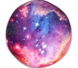 Albi Relaxační polštář kulatý Vesmír 35 cm