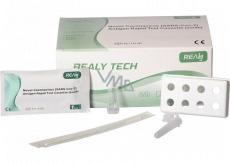 Realy Tech Rapid Test Cassette Antigenní test na Koronavirus výtěr z nosu 25 kusů