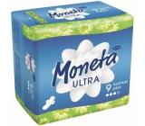 Ria Moneta Ultra Normal Plus intimní vložky s křidélky 9 kusů