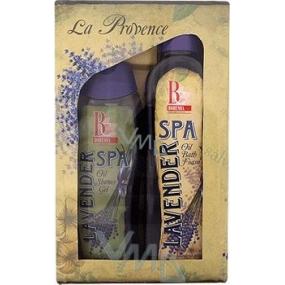 Bohemia Gifts Spa Lavender sprchový gel 300 ml + olejová lázeň 500 ml, kosmetická sada