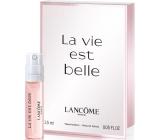 Lancome La Vie Est Belle toaletní voda pro ženy 1,5 ml s rozprašovačem, Vialka