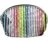 Etue Průhledná - barevný proužek 13 x 10 x 1,5 cm 1 kus 70100