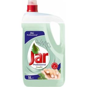 Jar Professional Sensitive Prostředek na ruční mytí nádobí 5 l