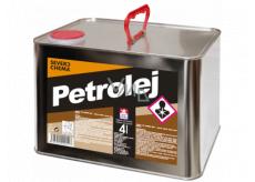 Severochema Petrolej určen na svícení v petrolejových lampách a čištění 4 L
