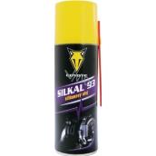 Coyote Silkal 93 silikonový olej mazivo na ložiska, čepy, elektrická a startovací zařízení, jízdní kola.. sprej 200 ml
