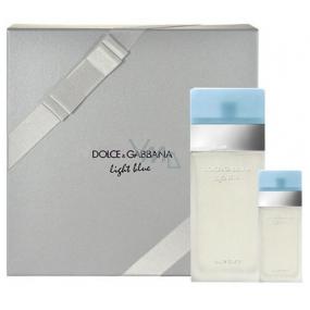 Dolce & Gabbana Light Blue toaletní voda pro ženy 100 ml + toaletní voda 25 ml, dárková sada