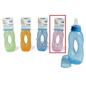 First Steps Slza růžová 0+ dětská láhev 250 ml