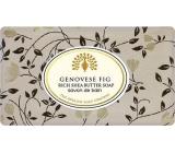 English Soap Janovské fíky Přírodní parfémované mýdlo s bambuckým máslem 200 g