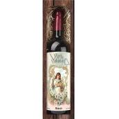 Bohemia Gifts Merlot červené Veselé Velikonoce dárkové víno 750 ml