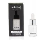 Millefiori Milano Natural White Mint & Tonka - Bílá máta a tonkové boby Aroma olej 15 ml