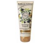 Jeanne en Provence Divine Olive vyživující sprchový peelingový gel 200 ml
