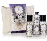 Panier des Sens Levandule sprchový gel 50 ml + tělové mléko 50 ml + krém na ruce 30 ml, cestovní kosmetická sada