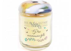 Heart & Home Pro novomanžele Sojová vonná svíčka střední hoří až 30 hodin 110 g