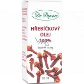 Dr. Popov Hřebíčkový olej 100% přírodní olej pro vnější i vnitřní užití doplněk stravy 10 ml