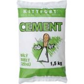 Kittfort Cement bílý 1,5 kg