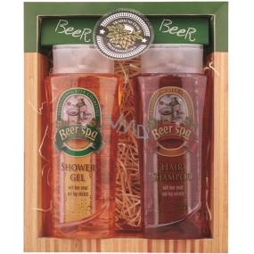 Bohemia Gifts & Cosmetics Beer Spa sprchový gel 250 ml + šampon na vlasy 250 ml, dárková sada