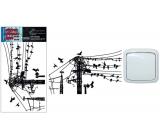Room Decor samolepka k vypínači dráty 24 x 15 cm 1 kus