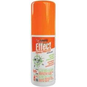 Effect Family Protect repelent proti klíšťatům a komárům 100 ml rozprašovač