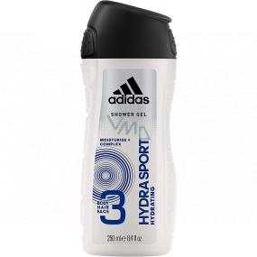 Adidas Hydra Sport sprchový gel na tělo a vlasy pro muže 250 ml