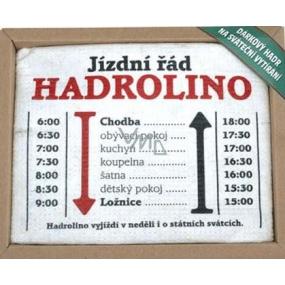 Bohemia Dárkový hadr na sváteční vytírání Hadrolino 1 kus