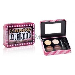 W7 Cosmetics Brown Parlour souprava kompletní péče o obočí 5 g