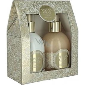 Vivian Gray Sweet Vanilla Luxusní mléko na ruce 250 ml + krémové tekuté mýdlo 250 ml
