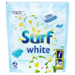 Surf White Orchid kapsle na praní na bílé prádlo 15 dávek 394 g
