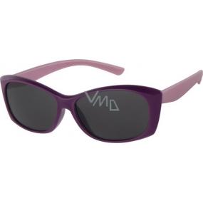 Dudes & Dudettes Sluneční brýle pro děti fialovo růžové DD16003