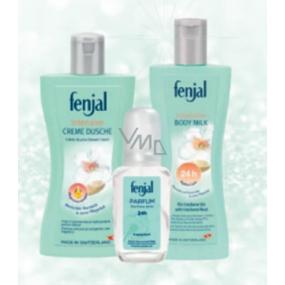 Fenjal Intensive sprchový gel 200 ml + tělové mléko 200 ml + parfémovaný sprej 75 ml, kosmetická sada