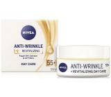 Nivea Anti-Wrinkle + Revitalizing 55+ Obnovující denní krém proti vráskám 50 ml