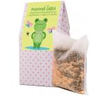 NeoCos Pohodová žabka Meduňková koupelová sůl s bylinkami v čajových sáčcích 50 g