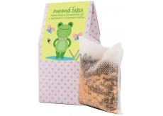 NeoCos Meduňka Pohodová žabka koupelová sůl s bylinkami v čajových sáčcích 50 g