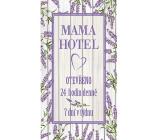 Bohemia Gifts Dekorační obraz na zavěšení Mama hotel 20 x 40 cm