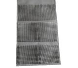 Kapsář na zavěšení šedo-černý 32,5 x 55 cm 5 kapes 9912