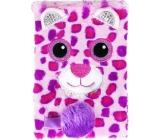 Albi Diář 2020 týdenní plyšový Medvídek růžový 18,5 x 13 x 2,5 cm
