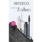 Artdeco Angel Eyes Mascara řasenka Black 10 ml + Artdeco Lash Booster báze pod řasenku transparentní 10 ml + etue, kosmetická sada