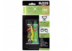 Alteco Epoxy Clear Dvousložkové čiré epoxidové lepidlo se zpracovatelností 60 minut 40 g