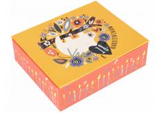Albi Hrací krabička na peníze 18. narozeniny Lenochod 11 x 9 x 3,5 cm