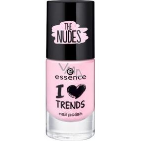 Essence I Love Trends Nail Polish The Nudes lak na nehty 06 Baby Doll 8 ml