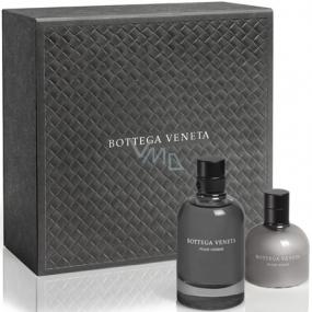 Bottega Veneta pour Homme toaletní voda 90 ml + balzám po holení 100 ml, dárková sada